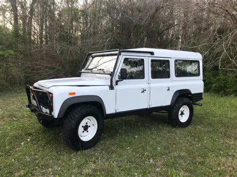land rover diesel engine land rover defender 110 left drive with 200tdi turbo