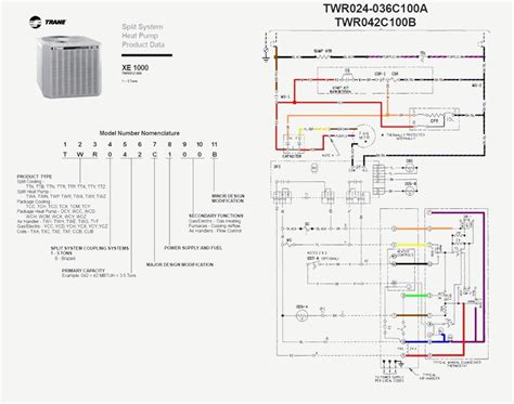 generous trane ac contactor wiring diagram photos