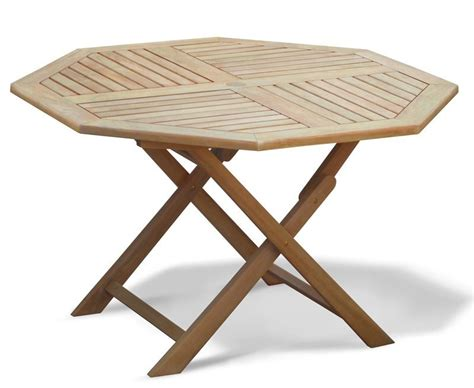 Folding Table And Bench Set Suffolk Octagonal Folding Garden Table And Chairs Set