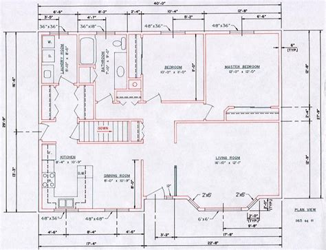 floor plan dimensioning floor plans