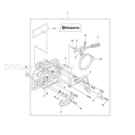husqvarna chainsaw parts diagram husqvarna 435 chainsaw 2011 parts diagram chain