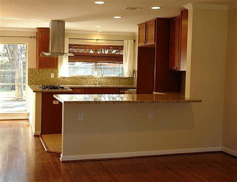 Opening Up Living Room And Kitchen How Much For A New Kitchen To Look Like This Granite