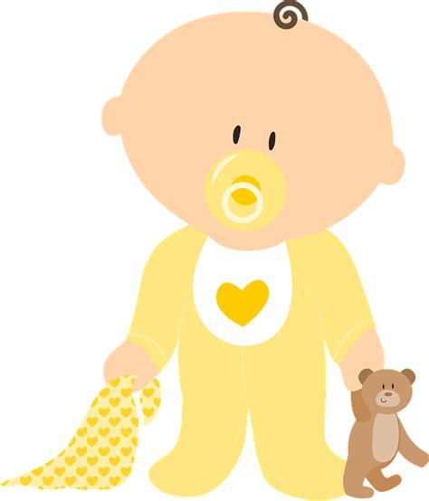 clipart neonati free vector graphic baby boy neutral child