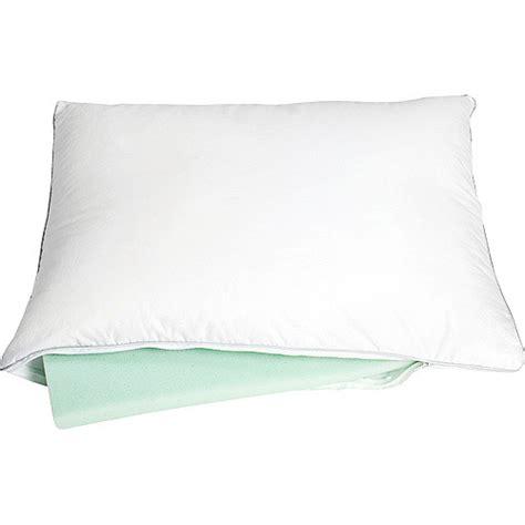 memory foam gel fiber combo pillow bedding walmart