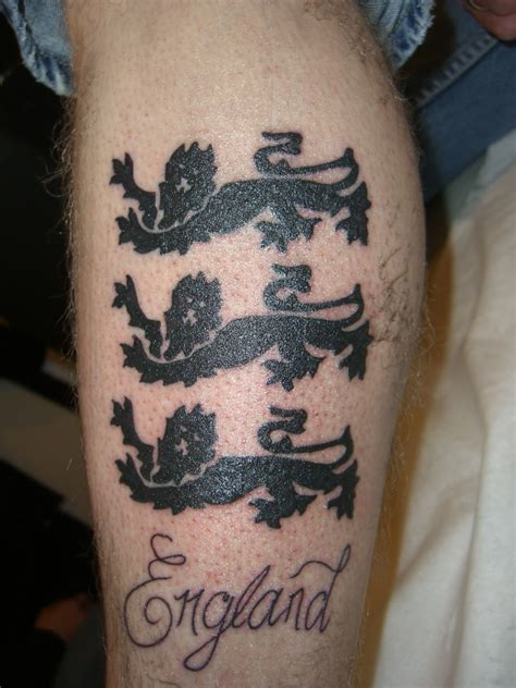 british lion tattoo designs 3 lions tattoos 3 lions