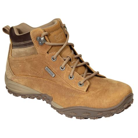cat footwear s waterproof leather hiking boots