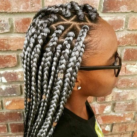 parting hair for box braids 40 black braided hairstyles hair styles for black woman