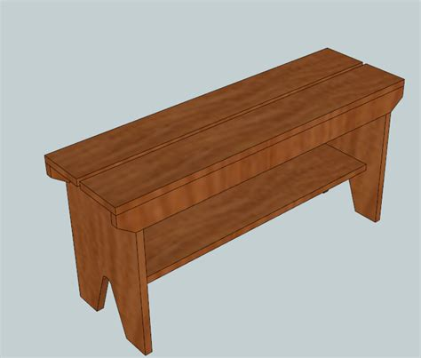 5 board bench plans fun with woodworking free plans