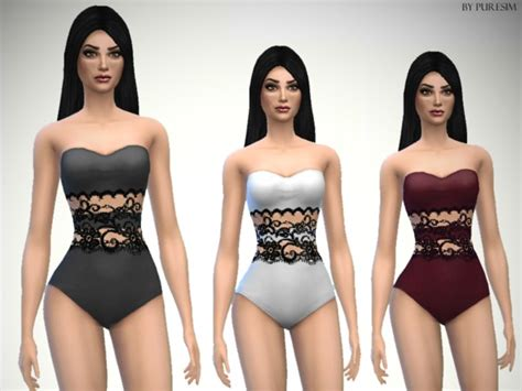 Top Home Decor Websites the sims resource lace swimsuit by puresim sims 4 downloads