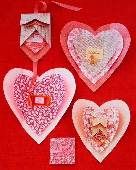 valentines build a shaped crafts martha stewart