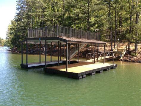 aluminum boat docks aluminum dock with sundeck allatoona