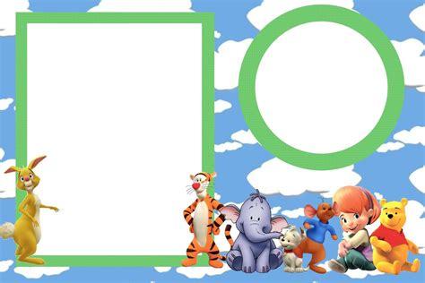 imagenes de winnie pooh para guardar tarjetas de cumplea 241 os winnie pooh para imprimir para el