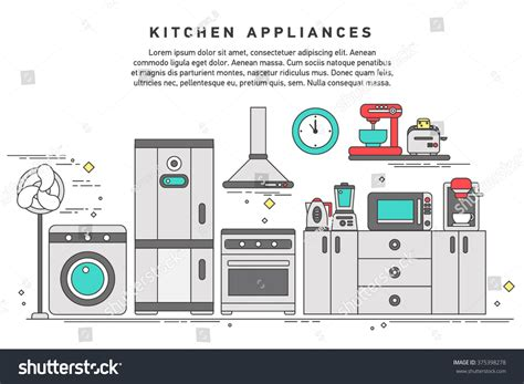 Smart Home Appliances Future Digital Technology Stock