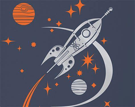 Kyt X Rocket Retro White space ship etsy