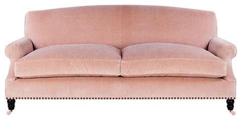 baby pink sofa burlingame sofa traditional sofas by madeline stuart