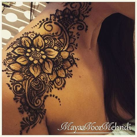 henna tattoos on shoulder best 25 shoulder henna ideas on henna