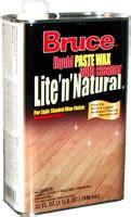 bruce w103 32oz lite n wood floor paste wax ebay