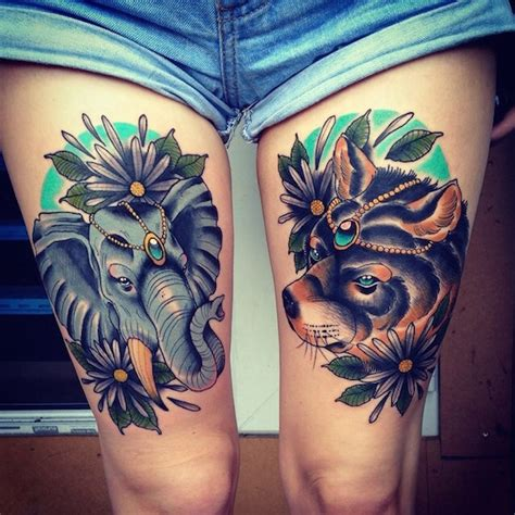 tattoo sexiest woman ideas for thigh tattoos