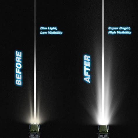 21 Led Light Bar Led Light Bar 21 Inch 100w Single Row Lch Led Car Solutions