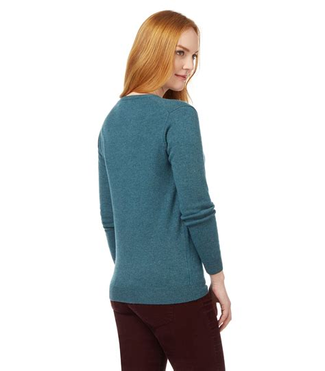 Stay Warm With Winter Sweaters by Woolovers Womens Lambswool Crew Neck Sleeve Winter