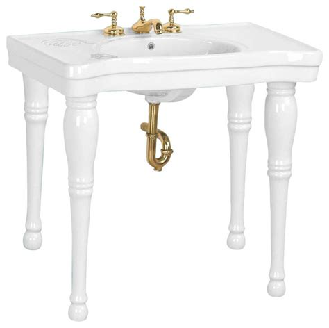 console bathroom sinks with legs console sinks black belle epoque sink 4 spindle legs