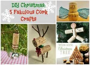 diy christmas 5 fabulous cork crafts crafting a green world