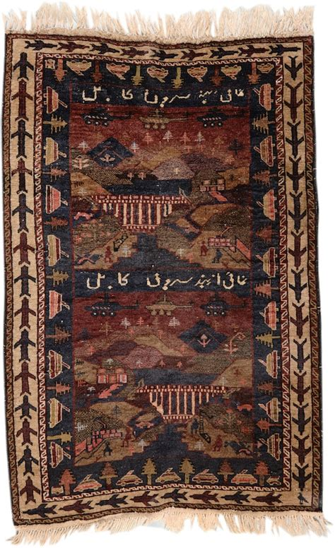 wars rugs from combat to carpet the strange story of afghan war rugs artnews