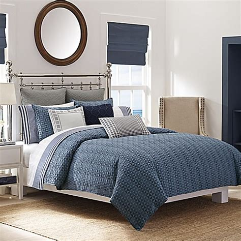 nautica queen comforter buy nautica 174 ayer reversible full queen comforter set in