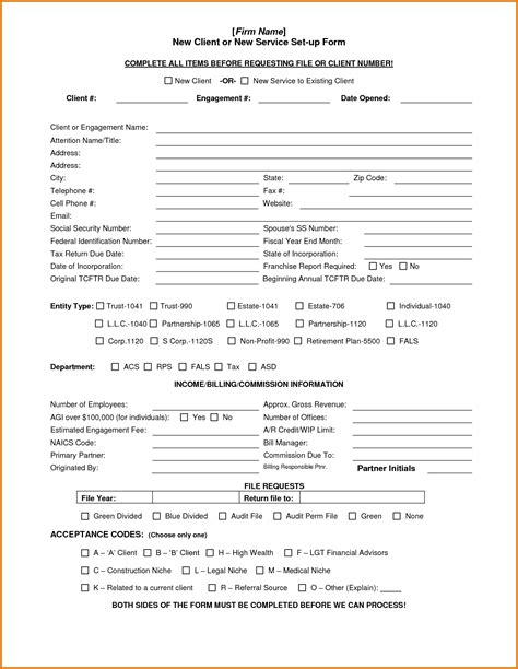 client acceptance form template pacq co