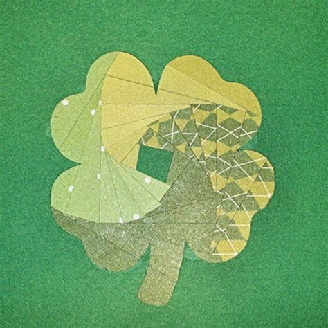 Handcrafted By St - handmade patrick s day card family net