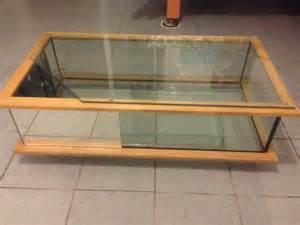 troc echange table basse aquarium vivarium terrarium sur