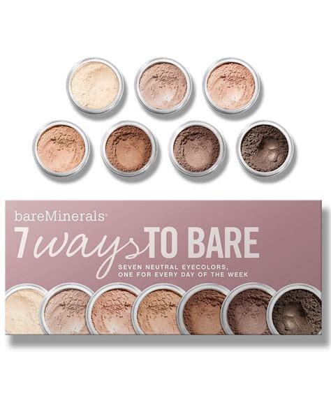 The Bare Escentuals Value 2 by Bare Escentuals Bareminerals 7 Ways To Bare Makeup Value