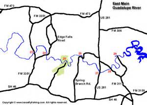 guadalupe river map guadalupe river fishing map pictures to pin on