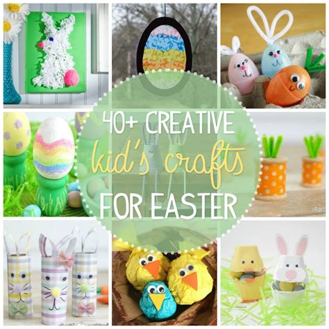 easter crafts for easter crafts for 40 creative and craft ideas