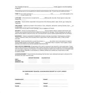 Terms Of Agreement Template by 10 Agreement Templates Free Sle Exle