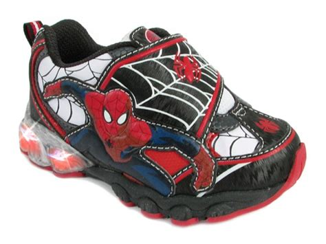 spiderman light up shoes spiderman light up sneaker kids woot