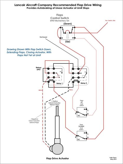 linear actuator limit switch wiring diagram wiring diagram