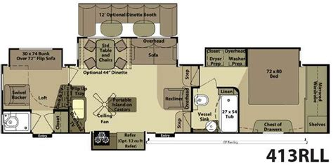 Bighorn Rv Floor Plans Bighorn 5th Wheel Floor Plans Meze Blog