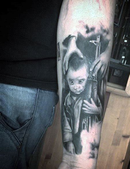 tattoo gun hand 50 gun tattoos for men explosive bullet design ideas