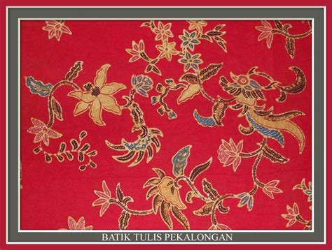 batik tulis pekalongan batik for customization indonesia