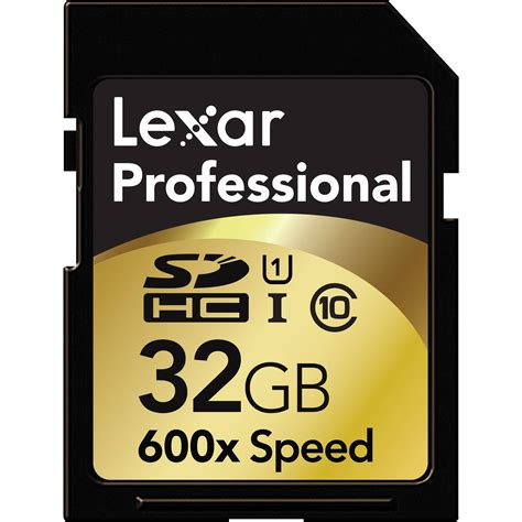 Memory Card Level 10 Lexar 32gb Sdhc Memory Card Professional Class 10