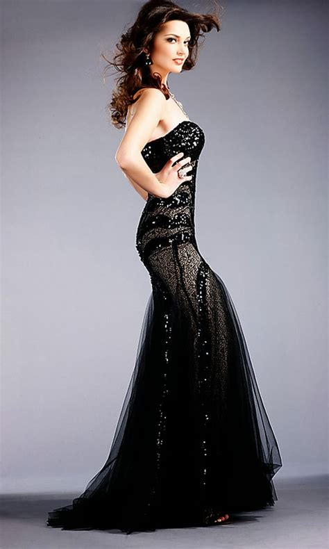 Black Wedding Dresses by Black Wedding Dresses Ideas Inspiration For