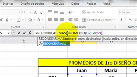youtube tutorial de excel tutorial de redondeo en excel youtube