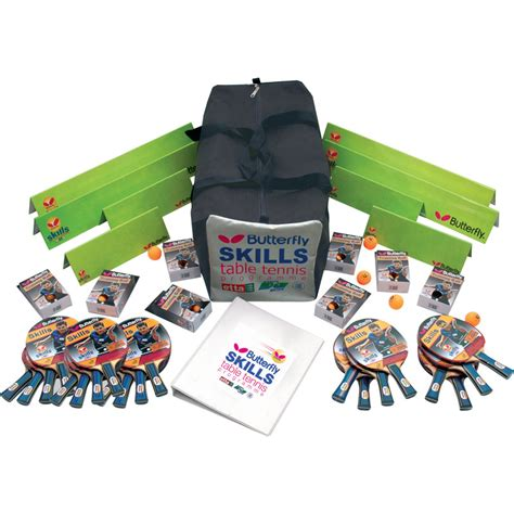 butterfly table tennis set butterfly skills key stage 1 and 2 table tennis set