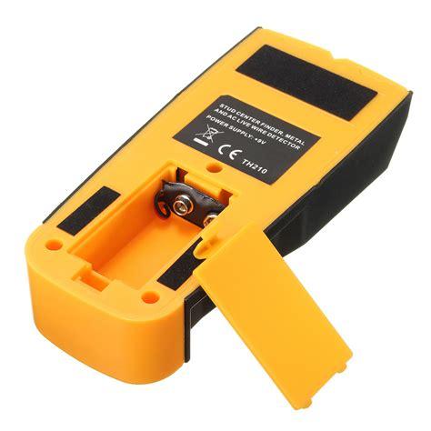 electric wire detector 3 in 1 lcd multifunction metal detector wood stud ac