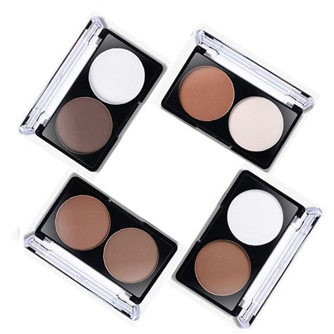 Contour Color 04 2 color shading powder contour bronzer highlighter