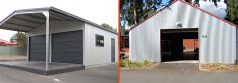 garage sheds adelaide install a shed roof how to build a