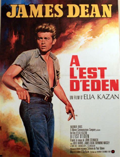 film online eden cinema poster east of eden james dean c 1970 france