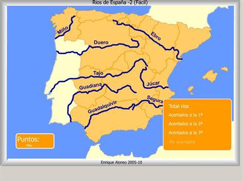 los rios de espana mapa interactivo de espa 241 a r 237 os de espa 241 a 191 c 243 mo se llama