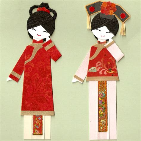 How To Make Doll From Paper - 8 best images of china printable paper dolls